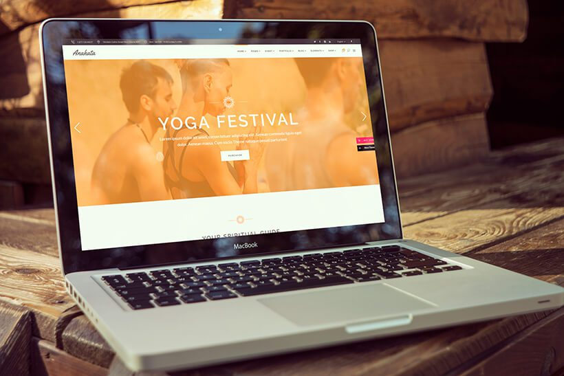 Fitness WordPress Website Theme