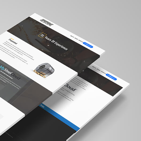 Prepainted Metals Website Redesign